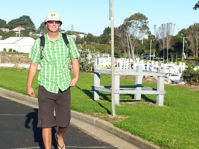 Going for a walk in Bermagui
