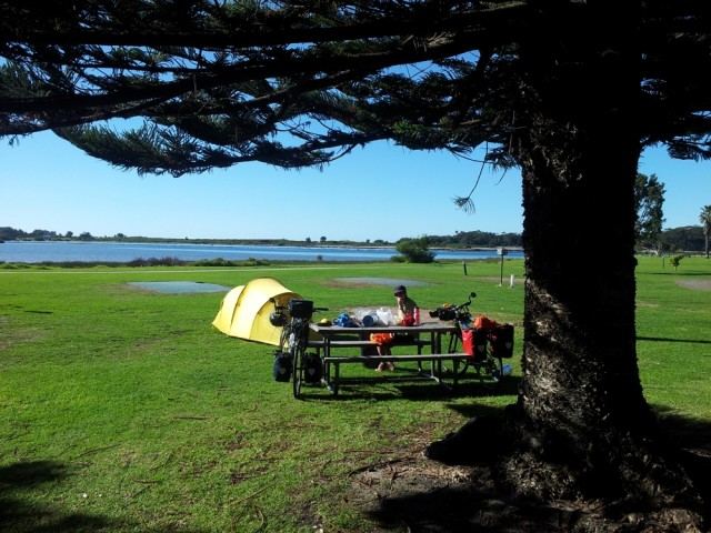 Camping at the Big4 in Narooma