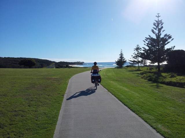Luxury cycle path from Narooma to Dalmeny