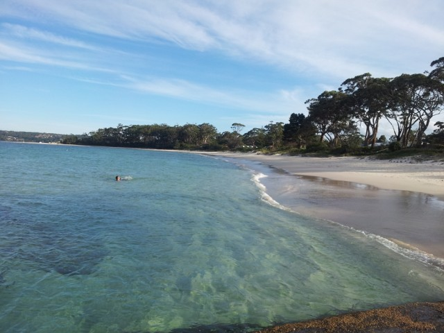 Swimming in Jervis Bay