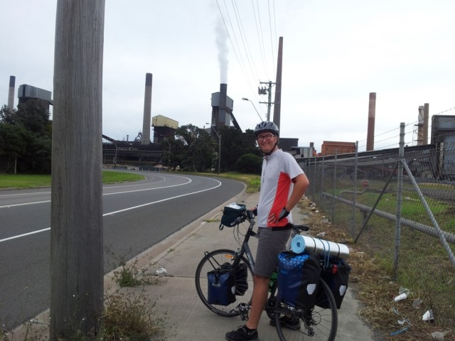 Port Kembla heavy industry