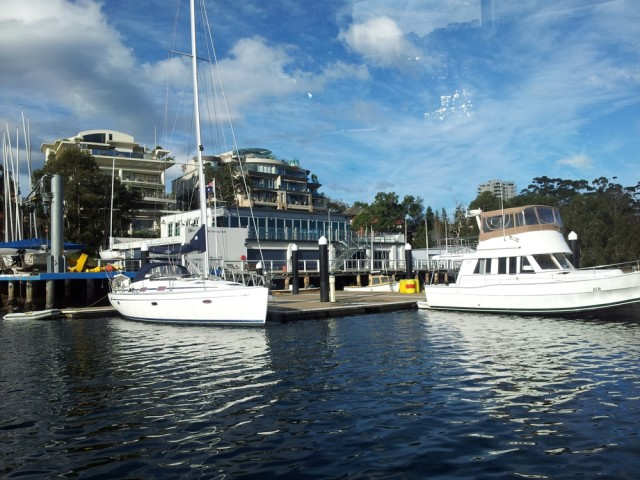 Arriving in Cronulla, Sydney