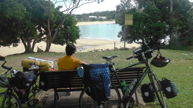 Chilling in Bundeena
