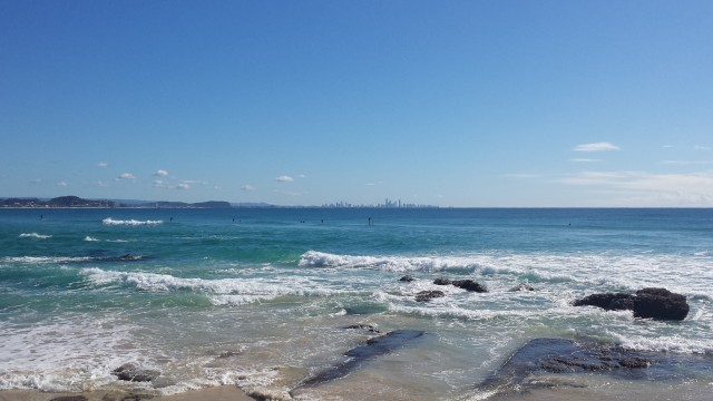 The Surfers Paradise skyline (think Benidorm)